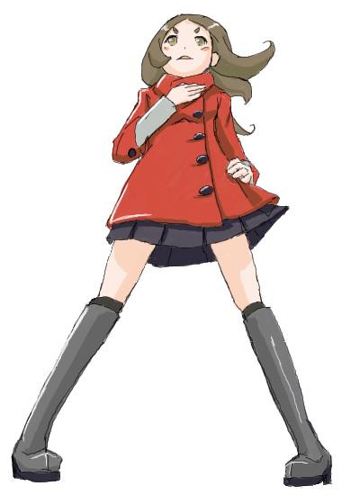 赤コートさん